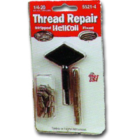 HeliCoil HEL5521-4 Thread Repair Kit for 1/4-20 x 3.75 Length - 12 Inserts image
