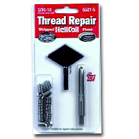 HeliCoil HEL5521-5 Thread Repair Kit for 5/16-18 x .469 Length - 12 Inserts image