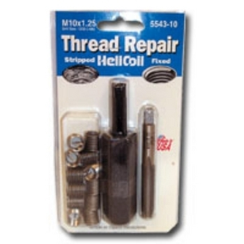 HeliCoil HEL5543-10 Thread Repair Metric Kit for M10x1.25 - 12 Inserts image