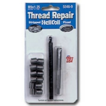 HeliCoil HEL5546-9 Thread Repair Metric Kit for M9x1.25 - 12 Inserts image