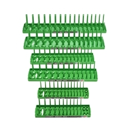 Hansen Global 92001 Socket Tray Six Pack - Green image