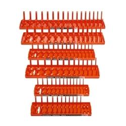 Hansen Global 92002 Socket Tray Six Pack - Orange image