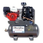 Image IMC (Belaire) 3G3HH 11 HP 30 Gallon Horizontal Two Stage Gas Driven Air Compress