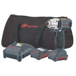 "Ingersoll Rand W1120-K2 1/4"" Impact Wrench Kit - IQv12 (cordless) image"