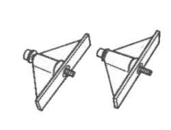 Kent Moore SPX J-38613-A GM 3.4 DOHC Camshaft Timing Tool Set  image