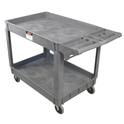 JET 140019 PUC-3725 Resin Utility Cart image