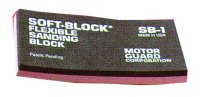 Motor Guard SB-3 SANDING BLOCK SOFT BLOCK FLEXIBLE image