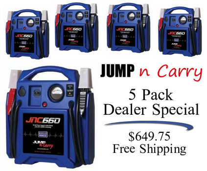 Jump N Carry Jnc660 >> Jump N Carry Kk Jnc 660 Jump Box Five Pack Battery Jump Boxes