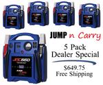 Image Jump-N-Carry KK JNC 660 Jump Box Five Pack