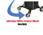 Image John Dow Industries 20DCE-3 Heavy Duty Swivel Caster ONE