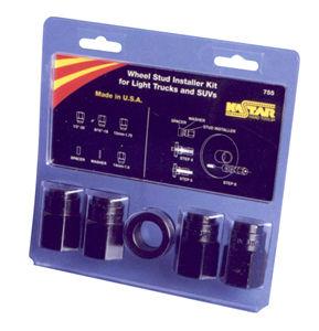 Kastar Hand Tools KAS755  6 Pc Wheel Stud Installer Kit for Light Trucks & SUV's image