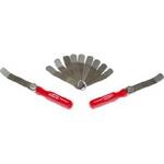 Image Kastar 3085 Gauge Feeler 11 Blade Offset Valve Tappet Gauge Import Set