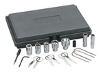 Image KD Tools 41680 Tools Radio Removal Kit & Antenna Wrench Kit
