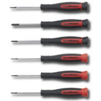 KD Tools 80055 Mini Phillips / Standard Slotted Screwdriver Set 6 pc image