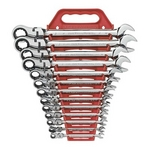 Image KD Tools 9702 Standard SAE Flex GearWrench Set 13 Pc.