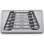 Image K-D Tools KD 81906 GearWrench 6 Pc. Metric Power Steering, Brake Line Wrench Set