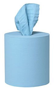 Kimberly-Clark KIM33046 KREW 400 Shop Towels - Case of 4 Rolls image