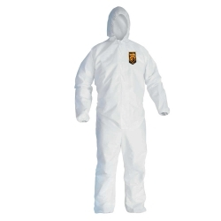 Kimberly Clark 46113 Hooded Coverall  Lg image