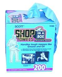 Kimberly-Clark KIM75190 Scott Shop Towels in a Box image