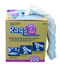 Kimberly-Clark KIM75260 Rags In A Box - 200 Pack image