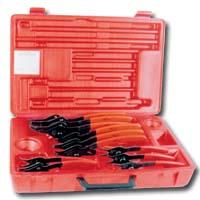 K Tool International KTI-55112 Plier Set 12 Piece Snap Ring image