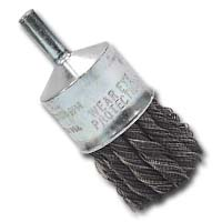 Lisle 14040 BRUSH WIRE END 1IN. .020 WIRE KNOTTED image