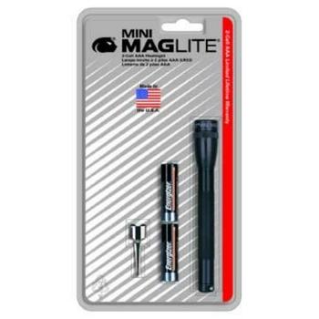 Mag-Lite MAGM3A016 Mini Maglite® AAA Flashlight - Black image