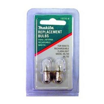 Makita Replacement Flashlight Bulbs for ML700 ML702 MAK192240-5 image