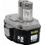 Image Makita 193159-1 1834 18-Volt 2.6 Amp Hour NiMH POD-Style Battery