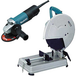 "Image 14"" Portable Cut-Off Saw - Cuts 4-1/2"" Round Stock at 45° and 90°"