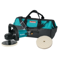 "Makita 9237CX2 7"" Polisher/Sander w/ Pad and Bag image"
