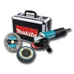 "Image Makita 9557PBX1 4-1/2"" Angle Grinder with Diamond Blade and 4 Grin"