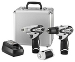 Image Makita Power Tools MAKLCT309W 12V max Lithium-Ion Cordless 3-Pc. Combo Kit