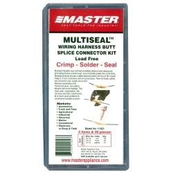 Master Appliance 11823 50PC Crimp, Solder & Seal Butt Splice Minipak image