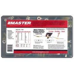 Master Appliance 11824 135PC Crimp, Solder & Seal Connector Kit image