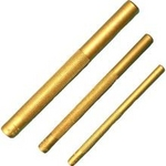 Image Mayhew Tools MAY61360  3 Pc. Brass Drift Punch Set