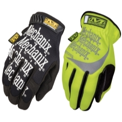 Mechanix Wear MECMBP-0591-011 2Pack Original Black and Fastfit hi viz yellow image