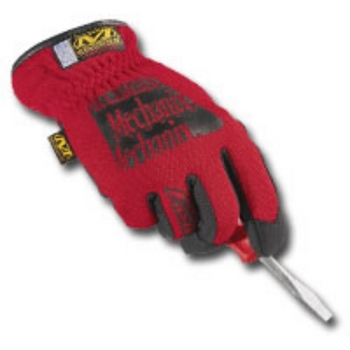 Mechanix Wear MFF-02-009 GLOVES FAST FIT RED MEDIUM image