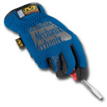 Mechanix Wear MFF-03-009 GLOVES FAST FIT BLUE MEDIUM image