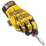 Image Mechanix Wear MG-01-008 GLOVES MECHANIX YELLOW SMALL
