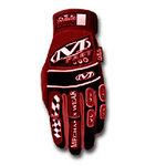 Image Mechanix Wear MP2-02-010 GLOVES M-PACT II RED LARGE