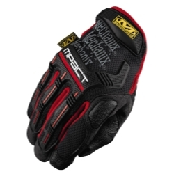 Mechanix Wear MPT-52-010 LRG Mpact Glove with Poron XRD, BLK/RED image
