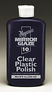 Meguiars MEGM1008 Mirror Glaze Clear Plastic Polish - 8 oz. image