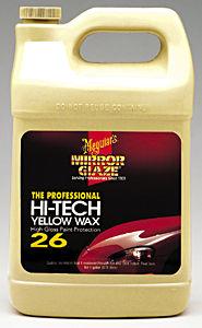 Meguiars MEGM2601 Hi Tech MEGM2601 Yellow Wax - 1 Gallon Liquid image