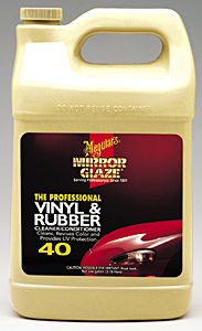 Meguiars MEGM4001 Vinyl & Rubber Cleaner/Conditioner - 1 Gallon image