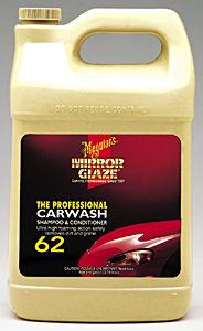 Meguiars MEGM6201 Carwash Shampoo & Conditioner  - 1 Gallon image