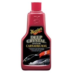Meguiars A2216 WAX DEEP CRYSTAL LIQUID 16OZ RETAIL image