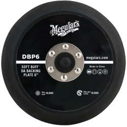 Meguiars DBP6 SOFT BUF DA POLISHER BACKING PLATE 6 inch image