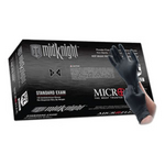 Image Microflex MFXMK296XL-10PK Midnight Black Nitrile Glove, X-Large - Case 10 Boxes