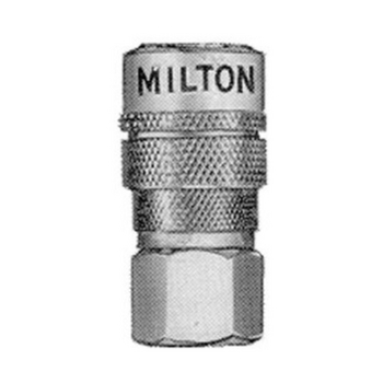 Milton Industries S-715 1/4 inch Steel Female Coupler M Style image